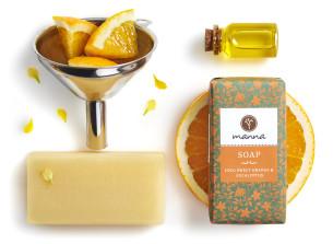 coco mýdlo pomeranč – eukalyptus - doporučené manna