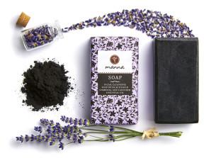 eben čisticí mýdlo na obličej s levandulovým esenciálním olejem - doporučené manna