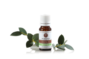 eukalyptový esenciální olej - doporučené manna