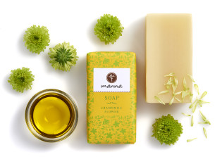 heřmánkové mýdlo - doporučené manna