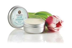krémový deodorant s levandulí a čajovníkovým olejem - doporučené manna