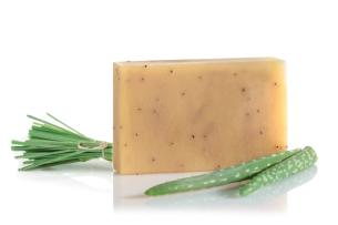 mýdlo s aloe vera a s indickou citronovou trávou - doporučené manna