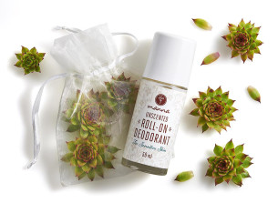 neparfémovaný kuličkový deodorant na citlivou pokožku - doporučené manna