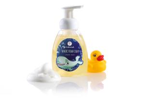 tekuté mýdlo pěnový zázrak - doporučené manna
