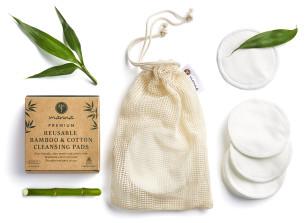 znovupoužitelné prémiové tampony na čištění obličeje - doporučené manna