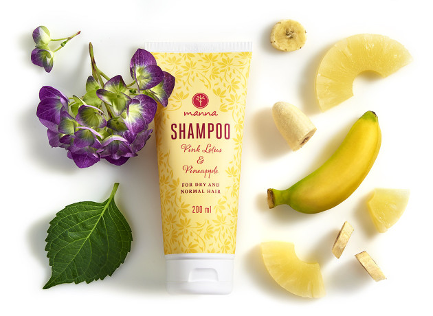 přírodní šampon na suché a normální vlasy