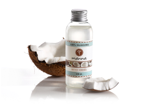 100% organisches natives kokosöl