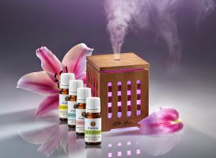 manna ultraschall aroma diffuser + 4 gratis ätherische Ölmischun - empfohlen manna