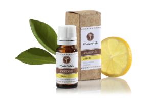 zitronen ätherisches Öl - 100% rein unverdünnt - empfohlen manna