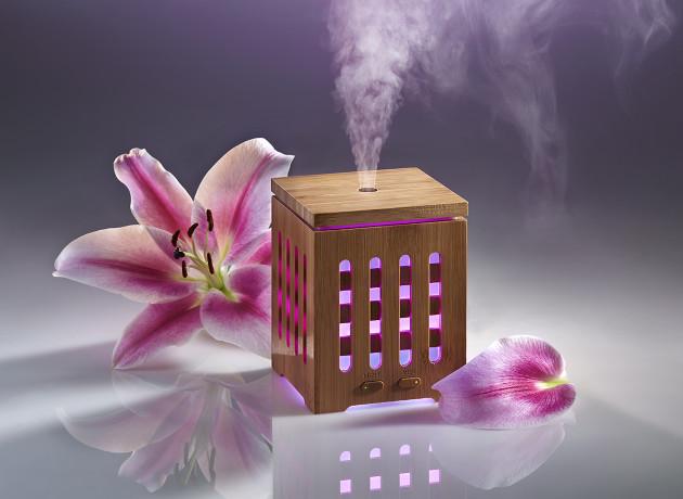 manna ultraschall aroma diffuser + 3 ätherische Öle als geschenk