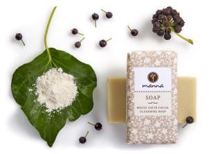 elefántcsont arctisztító szappan - ajánlott manna