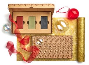 exkluzív, környezetbarát karácsonyi szappantrió - ajánlott manna