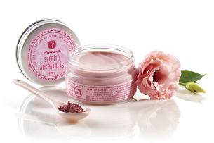 rózsaszín agyagos krémpakolás aloe vera vajjal - ajánlott manna