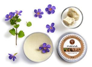 organiczne masło shea z ghany - polecamy manna