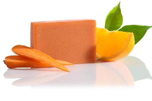 mydło retro pomarańczowo-marchewkowe - polecamy manna