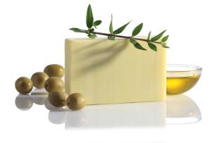 naturalne mydło z oliwą z oliwek z pierwszego tłoczenia - polecamy manna