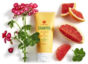 naturalny szampon do włosów farbowanych - polecamy manna