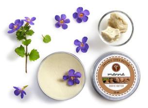 100% naturalne masło shea z ghany - polecamy manna