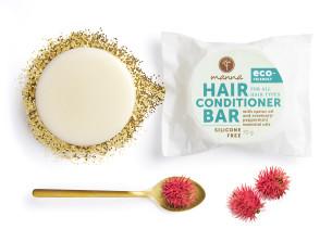 balsam de păr solid - fără recipient - recomandat manna