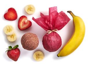 bilă de baie manna cu banane-căpșuni - recomandat manna