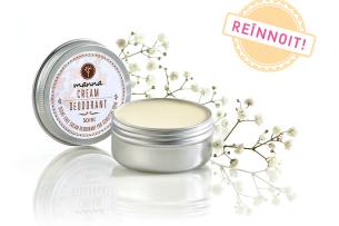deodorant cremă fără parfum pentru piele sensibilă - recomandat manna