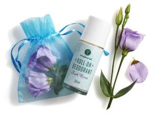 deodorant roll-on cu lavandă și arbore de ceai - recomandat manna
