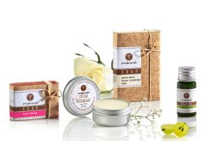 pachet pentru îngrijirea pură a pielii - recomandat manna