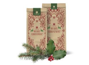 pungă festivă-ecologică de crăciun - mare (16x36 cm) - recomandat manna