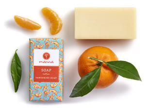 săpun cu mandarină - recomandat manna