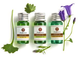 selecție exclusivă de uleiuri cosmetice - recomandat manna