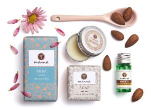 set anti-dry pentru piele uscată - recomandat manna