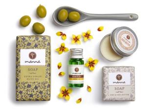 set Îngrijire extreme-sensitive pentru piele sensibilă - recomandat manna