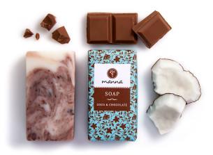 săpun coco ciocolată® - recomandat manna