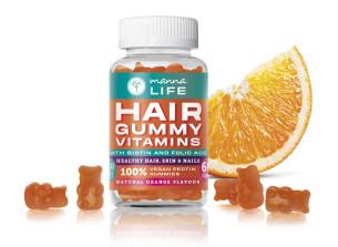 vitamine pentru păr manna life cu biotină și acid folic - recomandat manna