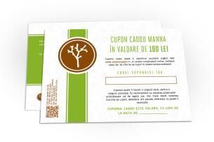 voucher de cadou în valoare de 100 lei - recomandat manna