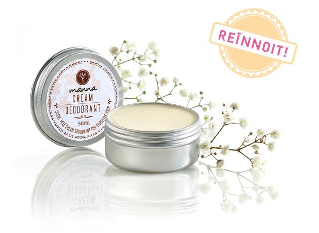 deodorant cremă fără parfum pentru piele sensibilă