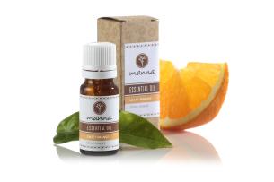 pomarančový esenciálny olej (citrus sinensis) - odporúčané manna