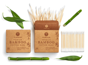 bambusové tyčinky do uší - prémium - odporúčané manna