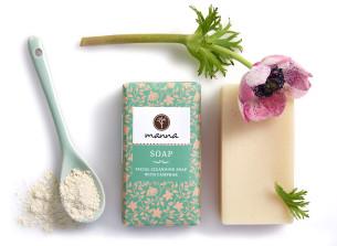 Čistiace mydlo s gáfrom na tvár - odporúčané manna