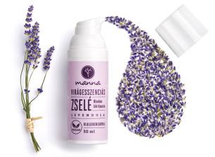 gél s kvetinovými esenciami, kyselinou hyalurónovou a levanduľou - odporúčané manna