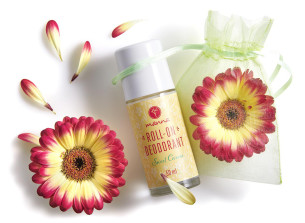 guličkový deodorant geranium a rozmarín - odporúčané manna