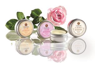 kolekcia krémových deodorantov - odporúčané manna