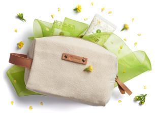 kozmetická taška zo 100% recyklovanej bavlny - odporúčané manna
