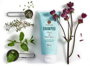 prírodný šampón na mastné vlasy a vlasy s lupinami - odporúčané manna