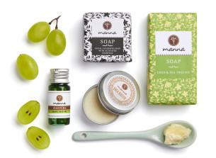 sada anti-akne pre mastnú pokožku - odporúčané manna