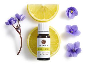 zvodný citrónový kvet - odporúčané manna