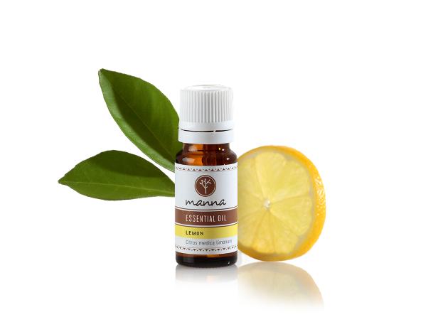 citrónový esenciálny olej