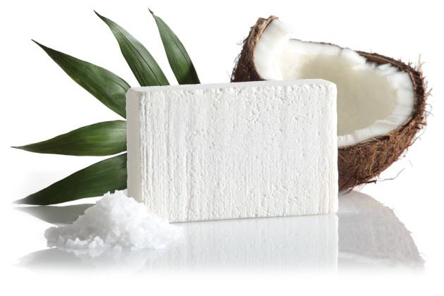 coco mydlo s morskou soľou v balení