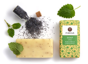 aloe vera lemongrass soap - recommended manna