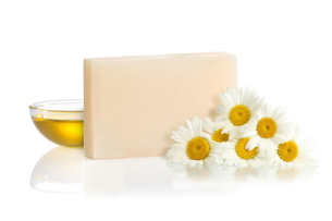 chamomile flower soap - recommended manna